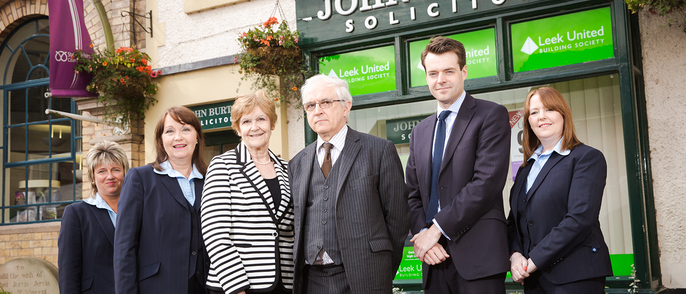 John Burton Solicitors in Stone